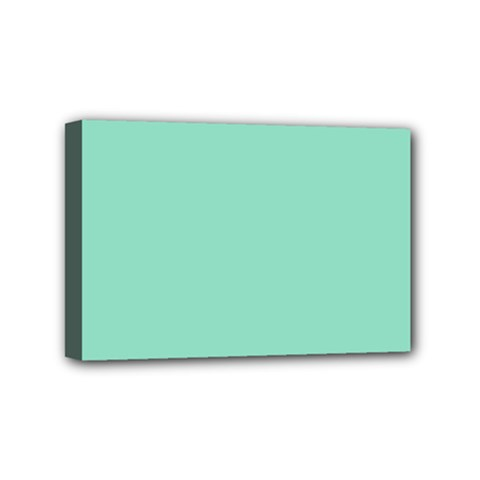 Mint Color Mini Canvas 6  X 4