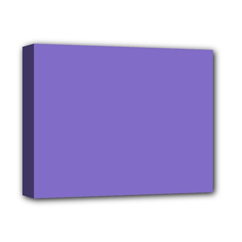 Lilac   Purple Color Design Deluxe Canvas 14  X 11  by picsaspassion