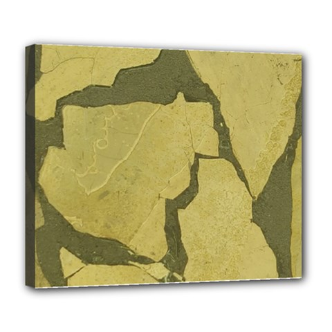 Stylish Gold Stone Deluxe Canvas 24  X 20   by yoursparklingshop