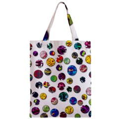 Play With Me Zipper Classic Tote Bag by Valentinaart