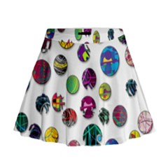 Play With Me Mini Flare Skirt