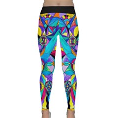 The Cure - Yoga Leggings  by tealswan