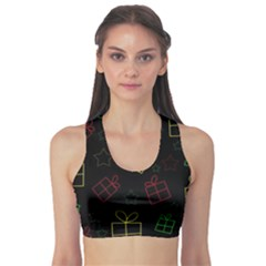 Xmas Gifts Sports Bra by Valentinaart