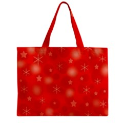 Red Xmas Desing Zipper Mini Tote Bag by Valentinaart