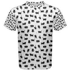 Black Cats  Men s Cotton Tee by kostolom3000shop