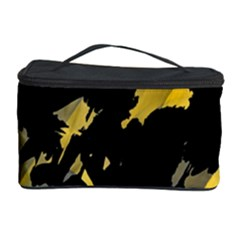 Painter Was Here   Yellow Cosmetic Storage Case by Valentinaart