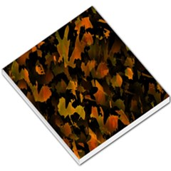 Abstract Autumn  Small Memo Pads by Valentinaart