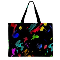 Painter Was Here Zipper Mini Tote Bag by Valentinaart