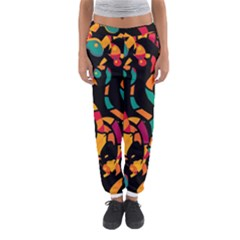 Colorful Snakes Women s Jogger Sweatpants by Valentinaart