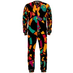 Colorful Snakes Onepiece Jumpsuit (men)  by Valentinaart