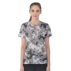 Winter Camouflage Women s Cotton Tee