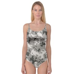 Winter Camouflage Camisole Leotard