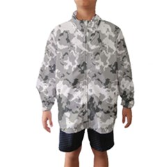 Winter Camouflage Wind Breaker (kids)