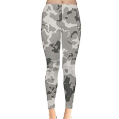 Winter Camouflage Leggings  by LetsDanceHaveFun