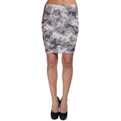 Winter Camouflage Bodycon Skirt by LetsDanceHaveFun