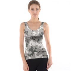 Winter Camouflage Tank Top by LetsDanceHaveFun