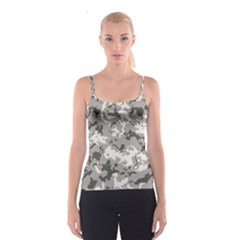 Winter Camouflage Spaghetti Strap Top by LetsDanceHaveFun