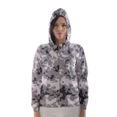 Winter Camouflage Hooded Wind Breaker (women)