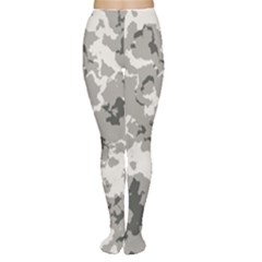 Winter Camouflage Women s Tights by LetsDanceHaveFun