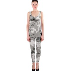 Winter Camouflage Onepiece Catsuit