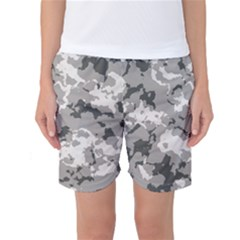 Winter Camouflage Women s Basketball Shorts