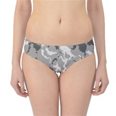 Winter Camouflage Hipster Bikini Bottoms by LetsDanceHaveFun