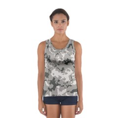 Winter Camouflage Women s Sport Tank Top