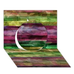 Colorful Marble Circle 3d Greeting Card (7x5) by Valentinaart