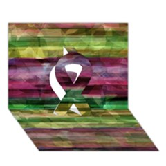 Colorful Marble Ribbon 3d Greeting Card (7x5) by Valentinaart