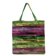 Colorful Marble Grocery Tote Bag by Valentinaart