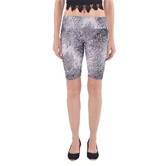 Whitesnake Yoga Cropped Leggings