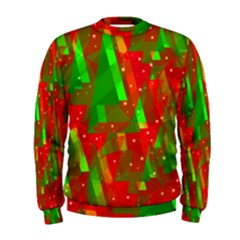 Xmas Trees Decorative Design Men s Sweatshirt