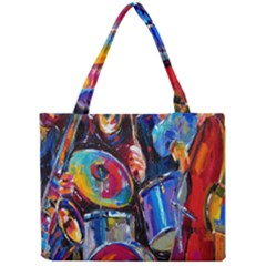 Abstract Paintings Wallpapers Mini Tote Bag by AnjaniArt