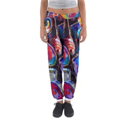 Abstract Paintings Wallpapers Women s Jogger Sweatpants by AnjaniArt