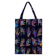 Art With Your Hand Classic Tote Bag