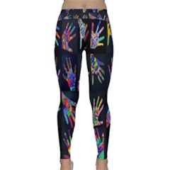 Art With Your Hand Yoga Leggings