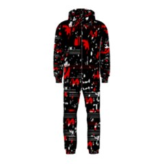 Red Symphony Hooded Jumpsuit (kids)