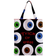 Trick Or Treat  Zipper Classic Tote Bag by Valentinaart