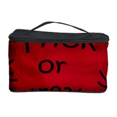 Trick Or Treat   Black Cat Cosmetic Storage Case