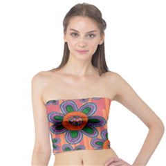 Colorful Floral Dream Tube Top