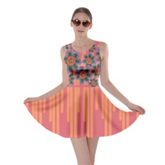 Colorful Floral Dream Skater Dress by DanaeStudio