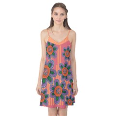 Colorful Floral Dream Camis Nightgown