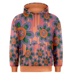 Colorful Floral Dream Men s Pullover Hoodie