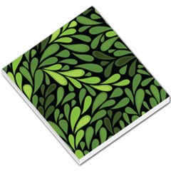 Free Green Nature Leaves Seamless Small Memo Pads by AnjaniArt