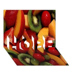 Fruit Salad Hope 3d Greeting Card (7x5) by AnjaniArt