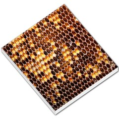 Honey Honeycomb Jpeg Small Memo Pads by AnjaniArt