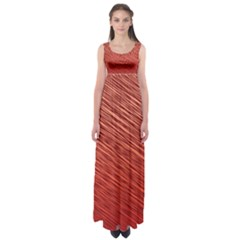 Line Design Empire Waist Maxi Dress by Aanygraphic