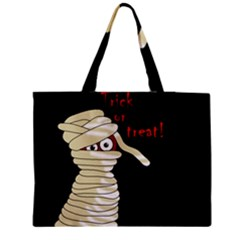 Halloween Mummy   Medium Tote Bag by Valentinaart