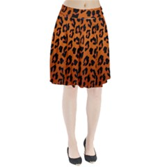 Leopard Patterns Pleated Skirt by AnjaniArt
