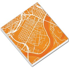 Map Art Small Memo Pads